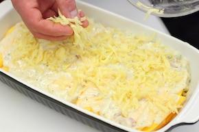 Zapiekana dynia z serem i boczkiem – krok 6