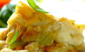 Zapiekana ryba z puree ziemniaczanym