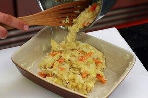 Zapiekanka ryżowa z warzywami – krok 5