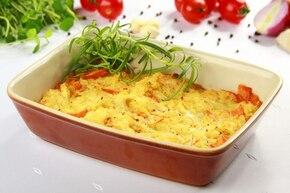 Zapiekanka ryżowa z warzywami – krok 6