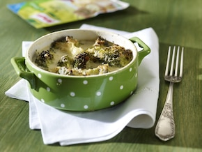 Zapiekanka z brokułów