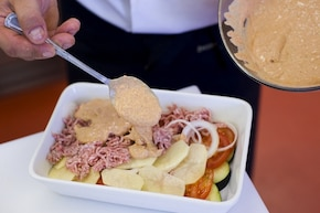 Zapiekanka z mielonym mięsem – krok 2