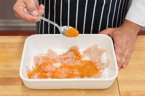 Zapiekanka ziemniaczana z kurczakiem i szpinakiem – krok 1