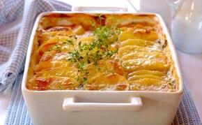 Zapiekany dorsz z ziemniakami
