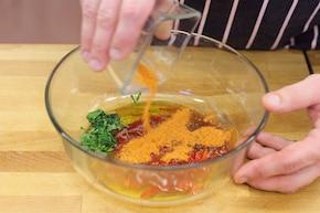 Żeberka z chili – krok 2