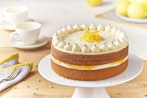 Tort cytrynowy z karmelizowaną cytryną