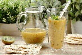 Zielony koktajl z mango