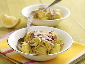 Ziemniaczana sałatka z curry