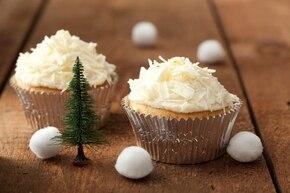 Zimowe muffinki z czekoladowym szronem