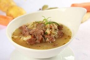 Zupa fasolowo – cebulowa
