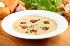 Zupa grzybowa kremowa – krok 5