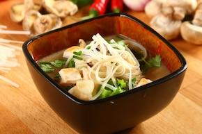 Zupa grzybowa w orientalnym stylu - VIDEO