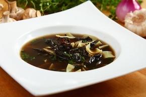 Zupa grzybowa z łazankami - VIDEO