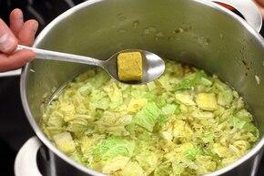 Zupa kapuściana – krok 4