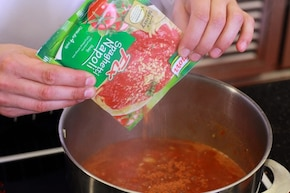Krem z pomidorów z cytrusami  – krok 2