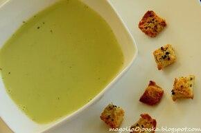 Zupa-krem fasolkowo-groszkowa
