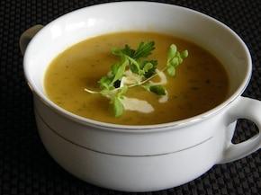 Zupa - krem z cukinii z nutką tymianku