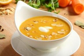 Zupa krem z marchewki