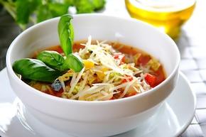 Zupa minestrone z kapustą