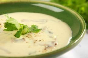 Zupa pieczarkowa – krok 4