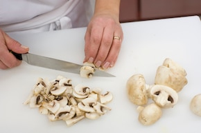 Zupa pieczarkowo – kalafiorowa  – krok 2