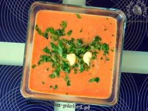 Zupa pomidorowa z majonezem