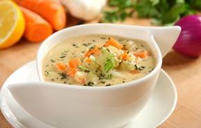 Zupa serowo-warzywna - VIDEO
