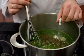 Zupa szpinakowa – krok 4
