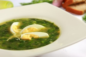 Zupa szpinakowa – krok 5
