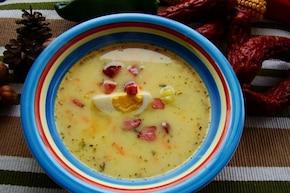 Zupa wielkanocna z chrzanem