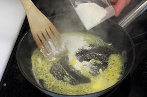 Zupa wigilijna z zielonego groszku – krok 3