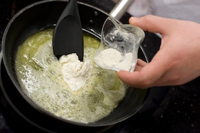 Zupa z boczniaków – krok 4