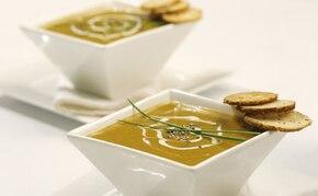 Zupa z dyni i pora