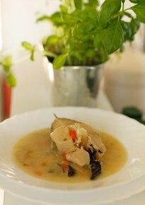 Zupa z halibuta