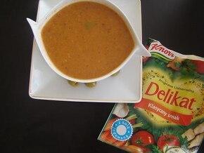 Zupa z oliwek śródziemnomorska