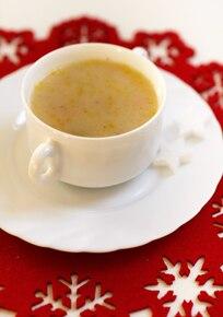 Zupa z pieczoną pietruszką