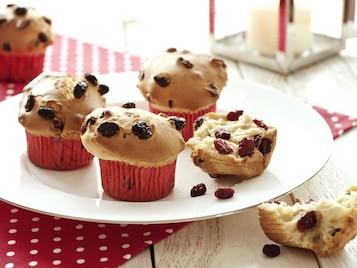 Muffinki żurawinowe