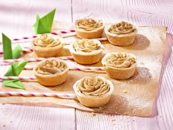 Cupcakes jabłkowe różyczki