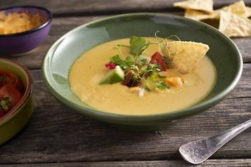 Meksykańska zupa chowder z kukurydzy