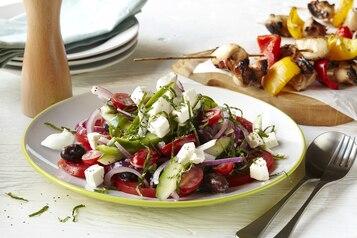Sałatka grecka z majonezem