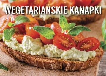 Wegetariańskie kanapki - infografika