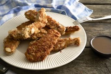 Paluszki z kurczaka z przyprawą Cajun - VIDEO
