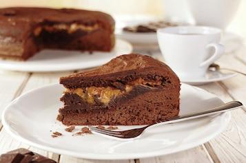 Brownie krówkowo-czekoladowe