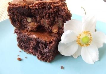 Brownies z gruszkami i orzechami