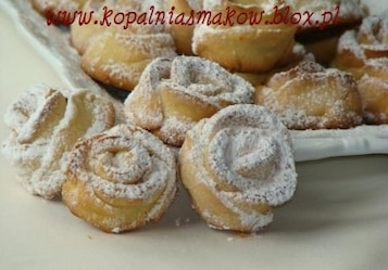 Ciasteczka Różyczki Mani