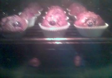 Ciasteczka z jagodami