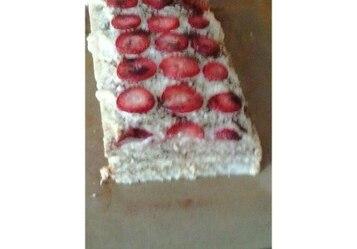 Ciasto budyniowe na herbatnikach