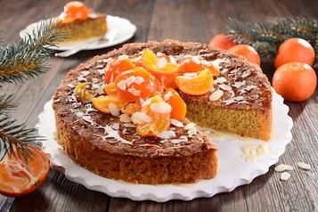 Ciasto mandarynkowe (bezglutenowe, bez laktozy)