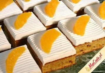 Ciasto serowo-pomarańczowe