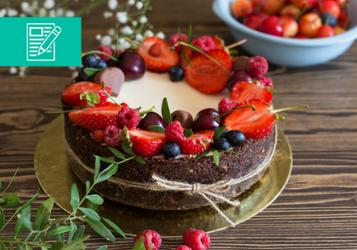 Ciasto na imieniny – upiecz radość solenizantom